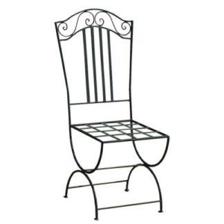 Chaise classique fer forgé 1